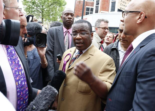 Croydon Guardian: South Norwood candidate Winston McKenzie told the crowd Croydon is a dump