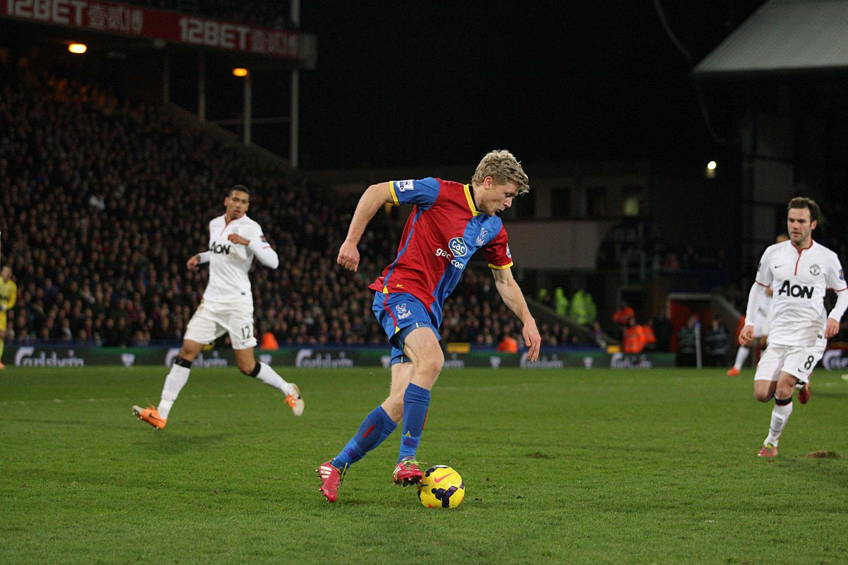 Gone: Crystal Palace favourite Jonny Parr has been released by boss Tony Pulis