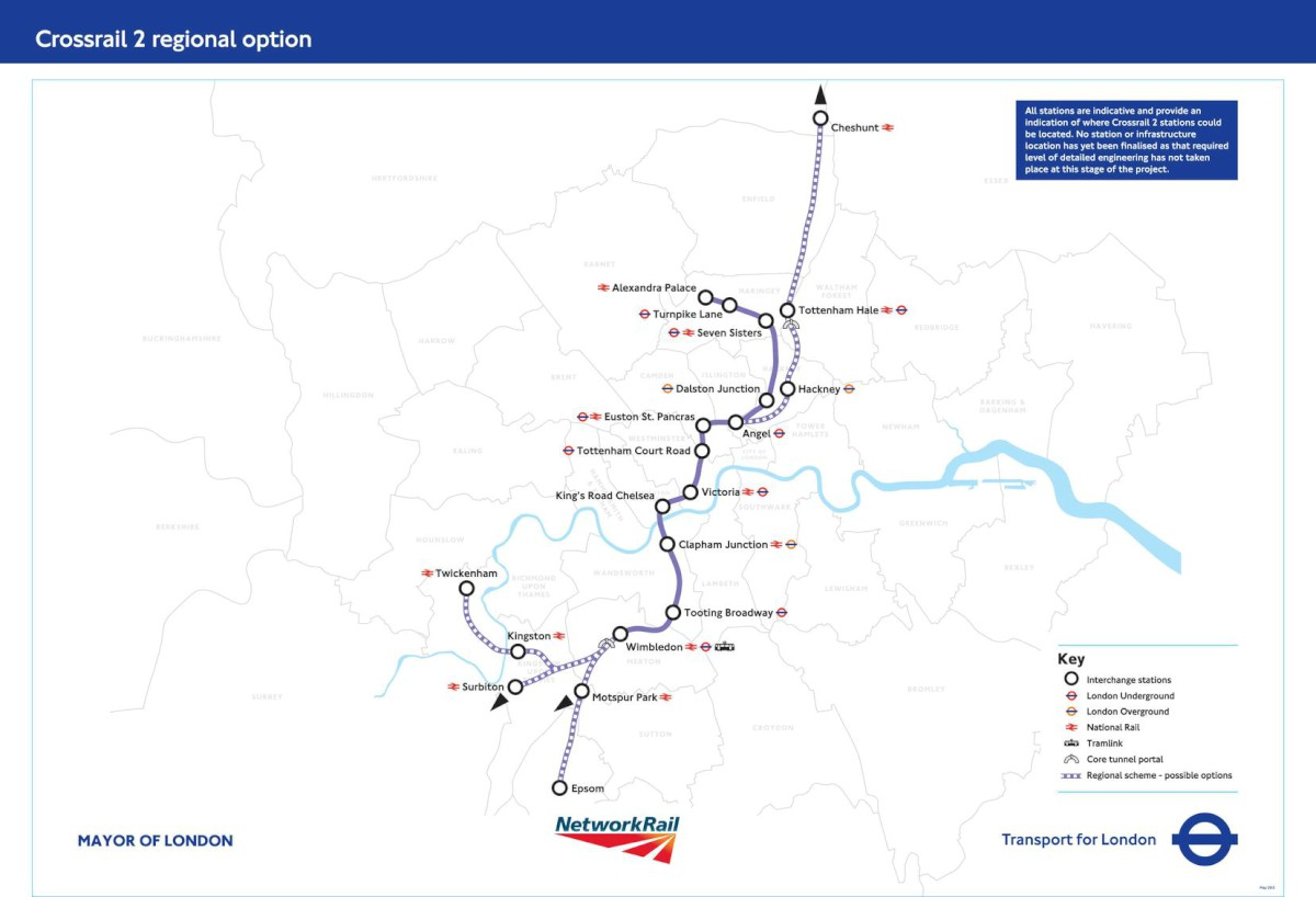 What do you think about Crossrail 2? Consultation starts today
