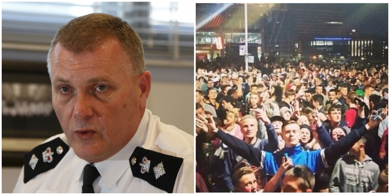 Chief Supt Dave Musker has pledged to pursue the organiser's of Saturday's rave
