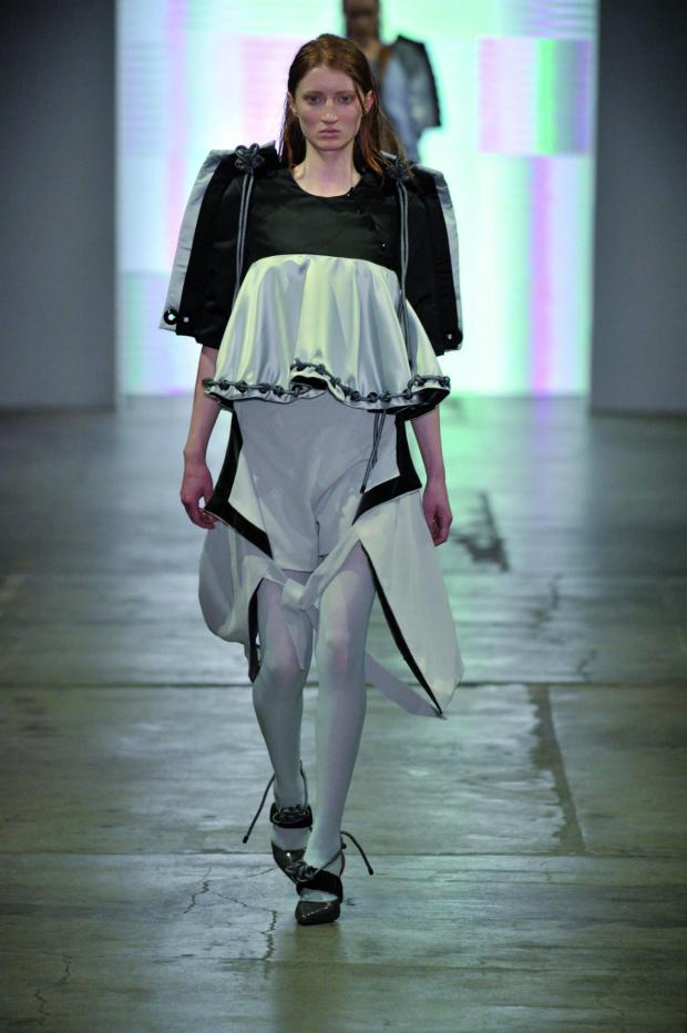 Croydon Guardian: Daniel opened the Ones to Watch show at London College of Fashion. Picture by Roger Dean