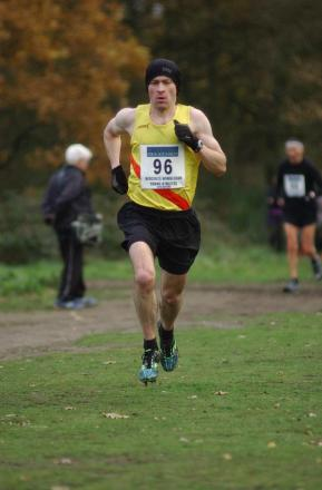 One of three: Kieran White was first at the Lloyd Park parkrun on Saturday