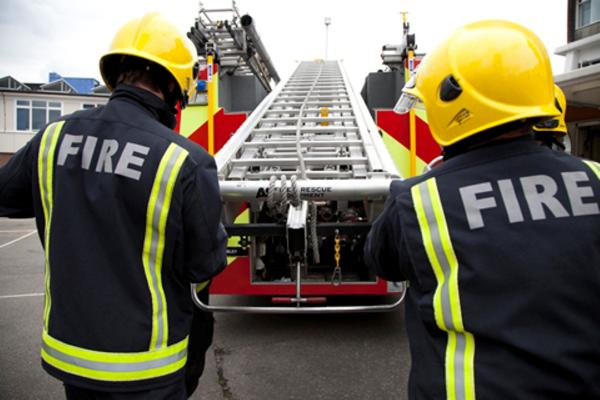Fire engines from Purley, Wallington, Mitcham, Norbury and Croydon were called to the blaze last night.