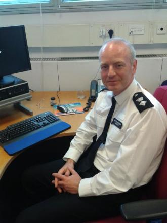 Chief Superintendent Andy Tarrant is Croydon's new borough commander