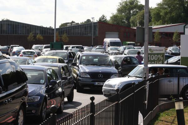 Fiveways junction is often blighted by congestion