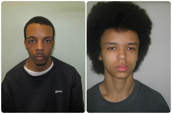Terrick Thompson has been jailed for eight years and Curtis Mcpherson has been imprisoned for six years.