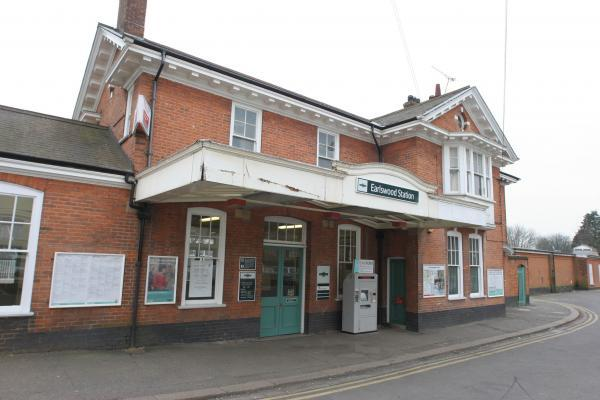 The incident happened at Earlswood station (File picture)