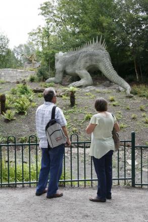 Restoring the dinosaurs is one of the proposed improvements to Crystal Palace Park