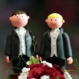 Laws enabling same-sex marriage in England and Wales were passed last year
