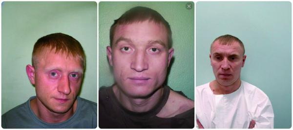 Jurius and Valodia, who went on the run, will be sentenced alongside their brother Viktoras Tarasov