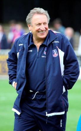 Eagles chief Neil Warnock. Picture by Edmund Boyden.
