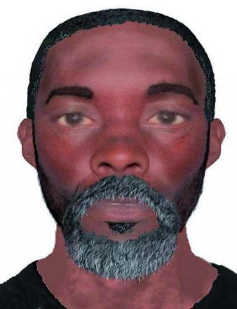Do you recognise this face? Police are trying to find the identity of this man