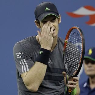 Andy Murray is out of the US Open (AP)