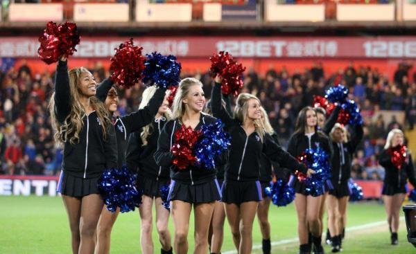 SELHURST REGULARS: Like most Palace fans, the Crystals don't really like playing away