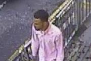 Police want to speak to this man in relation to the robbery