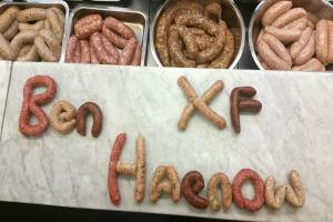 Get a load of these sausages: Butcher names banger after X Factor's Ben Haenow