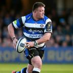 Croydon Guardian: Bath prop David Wilson, pictured, is England's latest injury concern ahead of next weekend's Six Nations opener in Wales