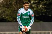 Fitness fight: Blues keeper Stuart Searle is hoping the Chelsea medical staff can get him back on track