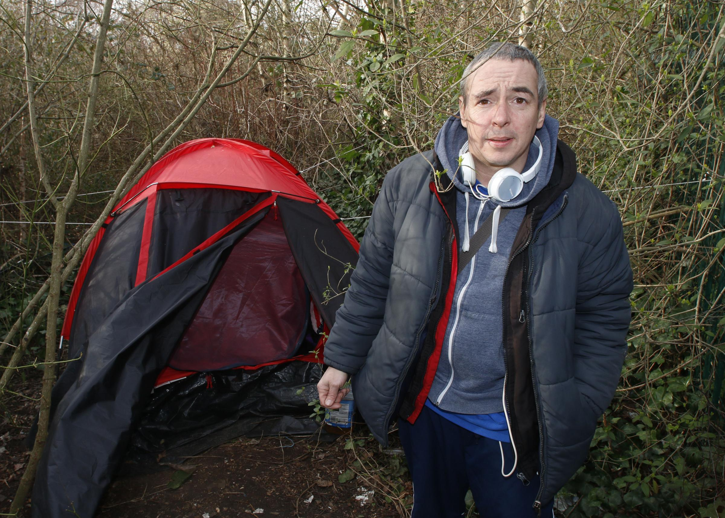 Mystery u0027council employeeu0027 tries to evict homeless man living in a tent in a  sc 1 st  Croydon Guardian & Mystery u0027council employeeu0027 tries to evict homeless man living in a ...