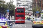 The man was hit by a bus in George Street