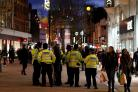 "Police are to have a ""heavy presence"" in Croydon town centre this week"