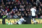 The good side: Dele Alli celebrates his goal in Tottenham Hotspur 3-1 win over Crystal Palace on Saturday