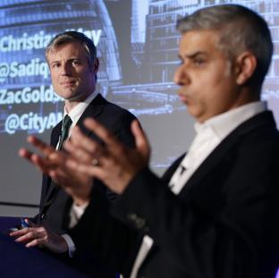 Croydon Guardian: Zac Goldsmith and Sadiq Khan are seen as the two frontrunners