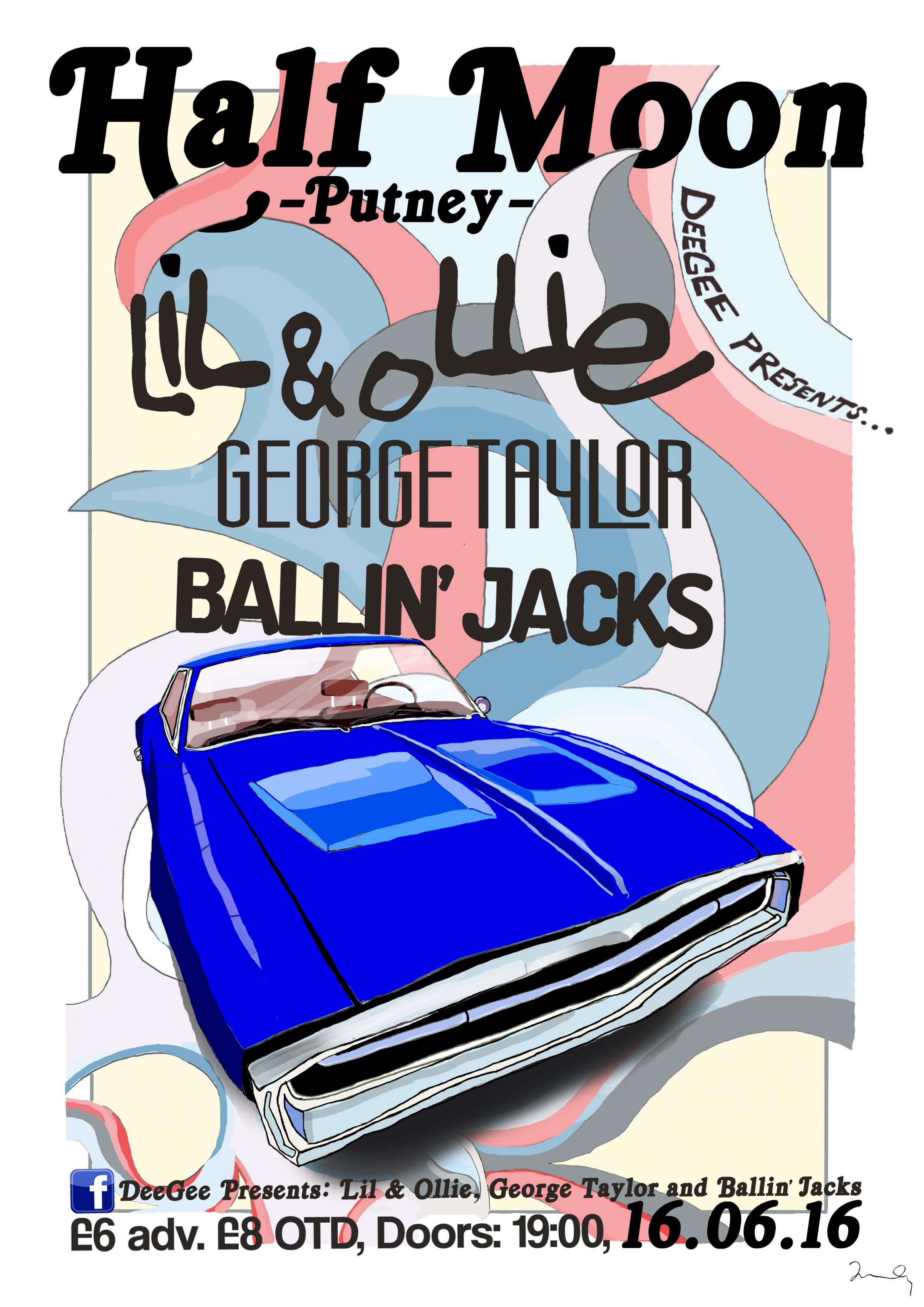 DeeGee Presents Lil Rice & Ollie Clark + George Taylor + Ballin' Jacks