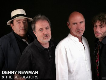 Denny Newman and his band