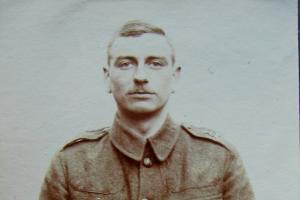 Charles Waller was killed on the first day of battle of the Somme 1916. His body was never recovered