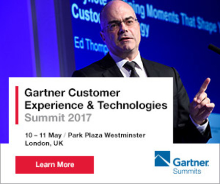 Gartner Customer Experience and Technologies Summit