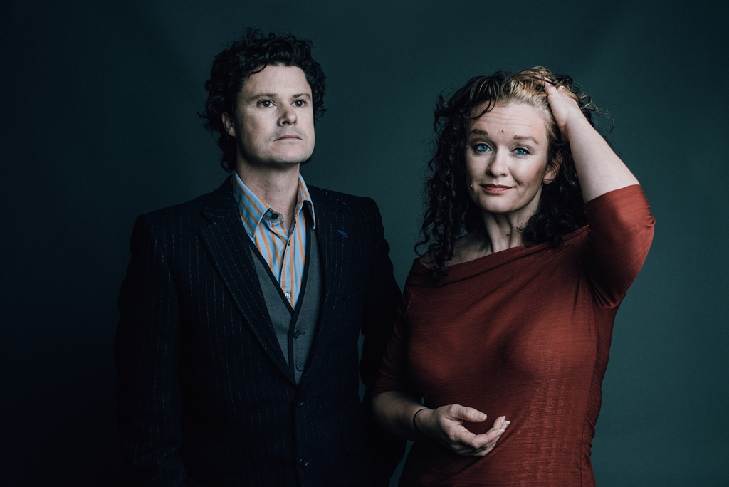 Kathryn Roberts and Sean Lakeman at Stanley Halls Croydon