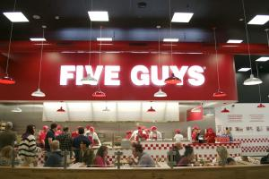 The UK's 'favourite fast food restaurant' Five Guys is coming to Croydon