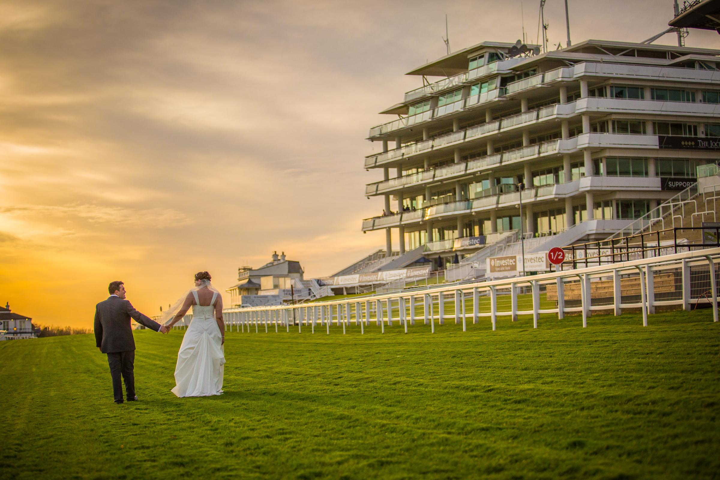 Couples can tie the knot at Epsom Downs
