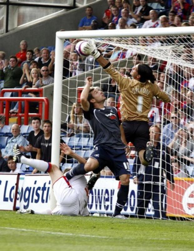 Speroni has been hailed as the best goalkeeper in the Championship by Neil Warnock