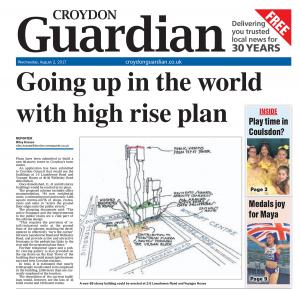 Croydon Guardian: The e-newspaper is your weekly copy of your favourite local newspaper delivered to your inbox. Sign up for free here >