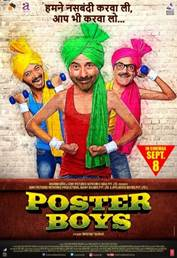 'POSTER BOYS' SET TO BE WORLDWIDE PIN UPS IN NEW DRAMEDY, 8TH SEPTEMBER 2017