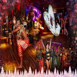 Book your Christmas Party now at Shaka Zulu, Camden!