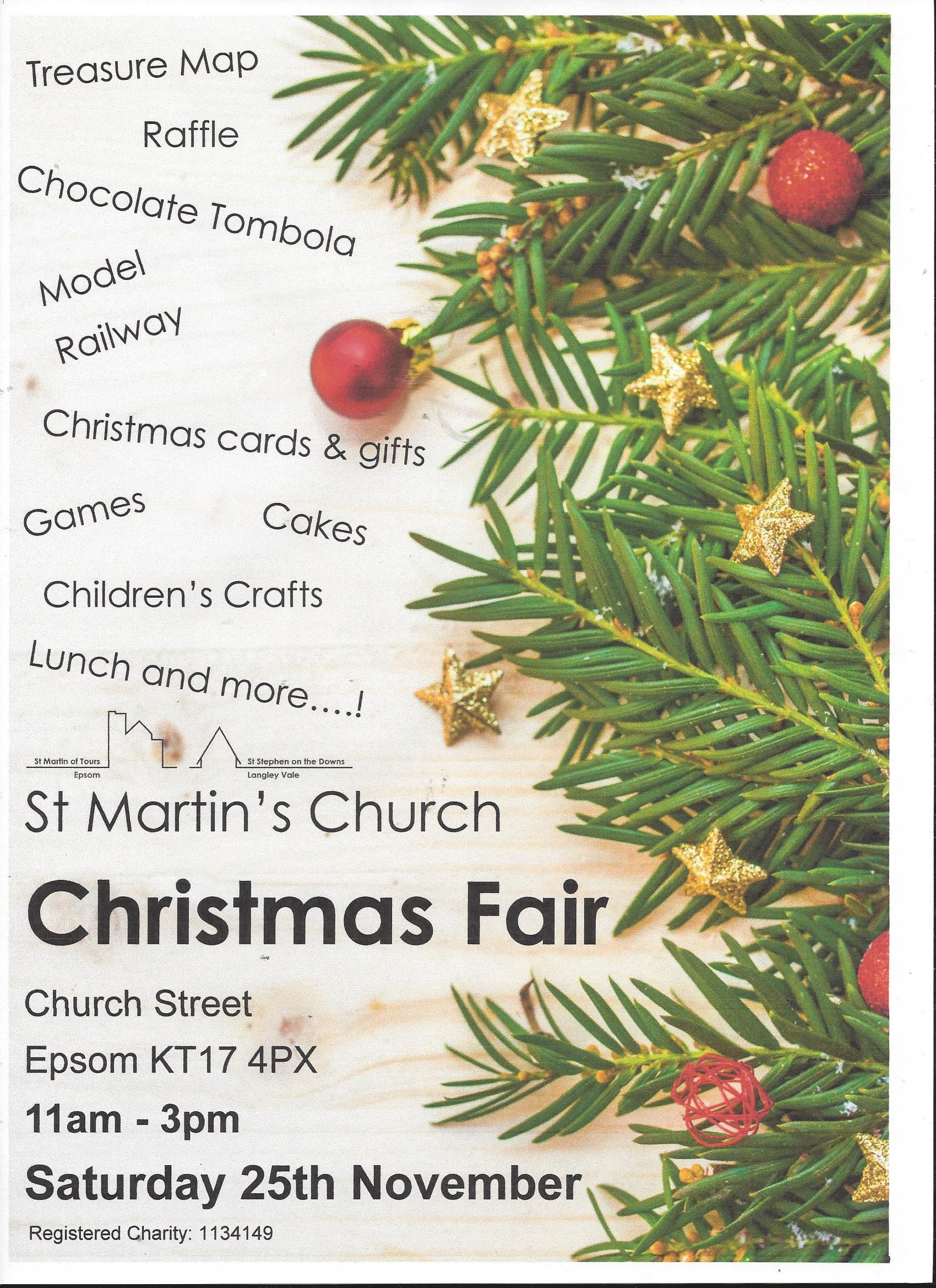 St Martin's Christmas Fair