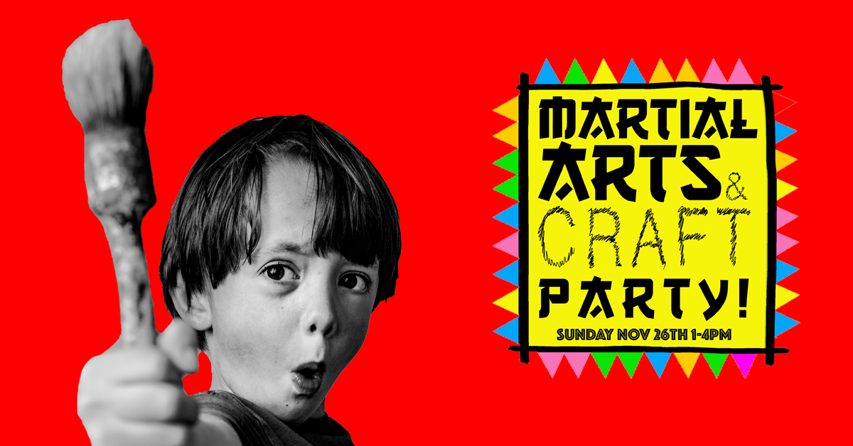 Martial Arts & Craft Party