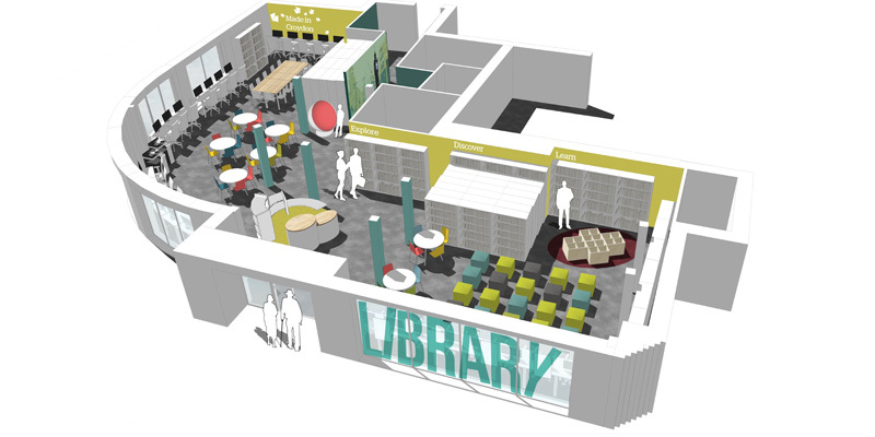 New library proposed for South Norwood