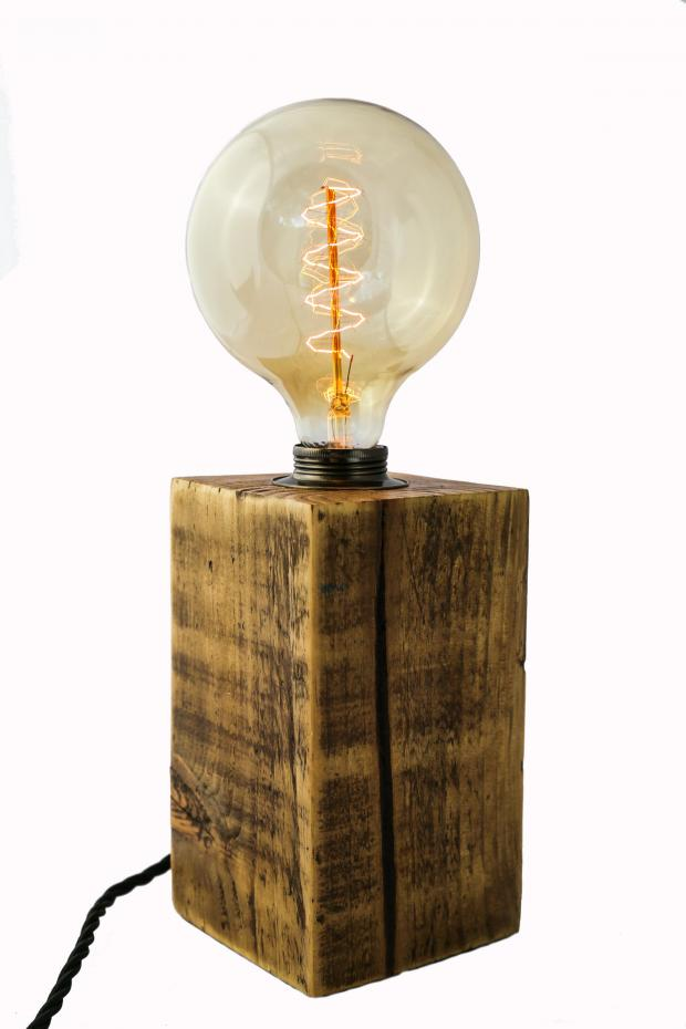 Croydon Guardian: Handmade at Amazon Large Chunky Table Lamp from MooBoo Home, £69.99