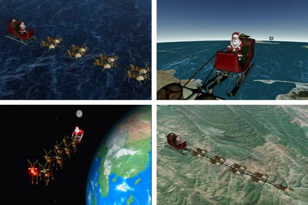 Norad Santa Tracker 2017: Find out where Father Christmas is in the world right now