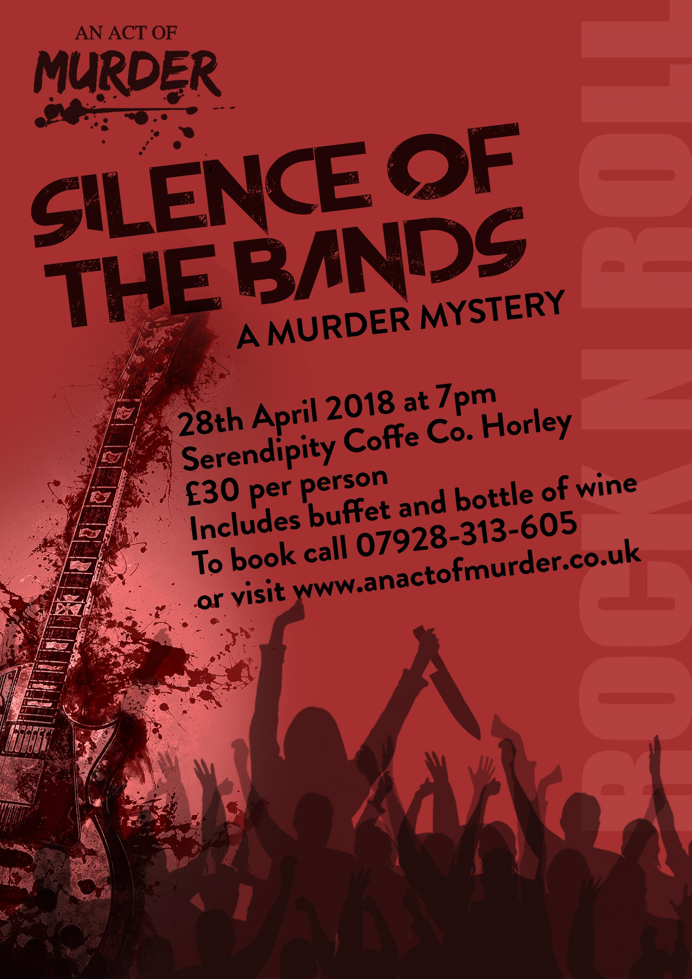 An Act Of Murder - Murder Mystery Evening