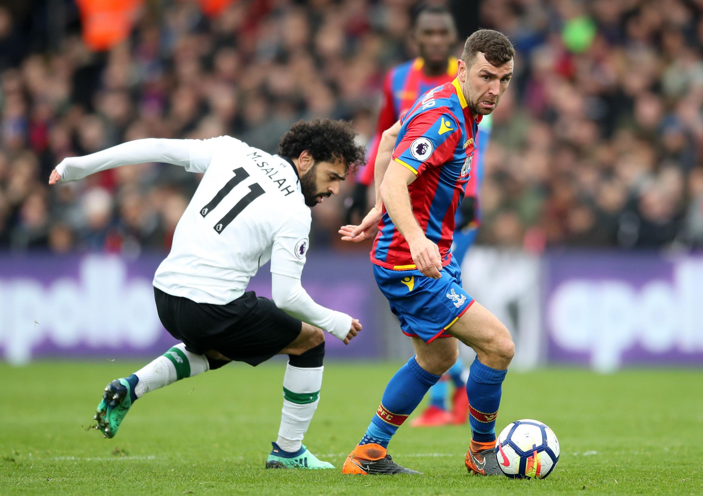 Crystal Palace's James McArthur. Photo: Adam Davy/PA Wire