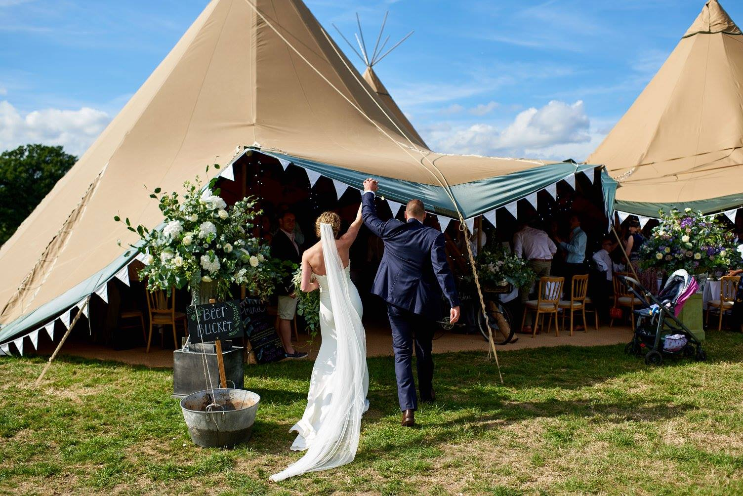 Beautiful World Tents Tipi Wedding Open Days