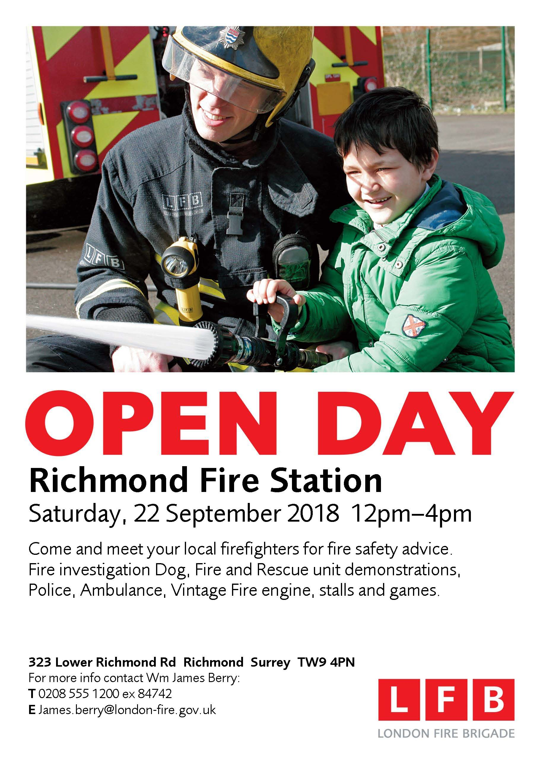 Richmond Fire Station Open Day