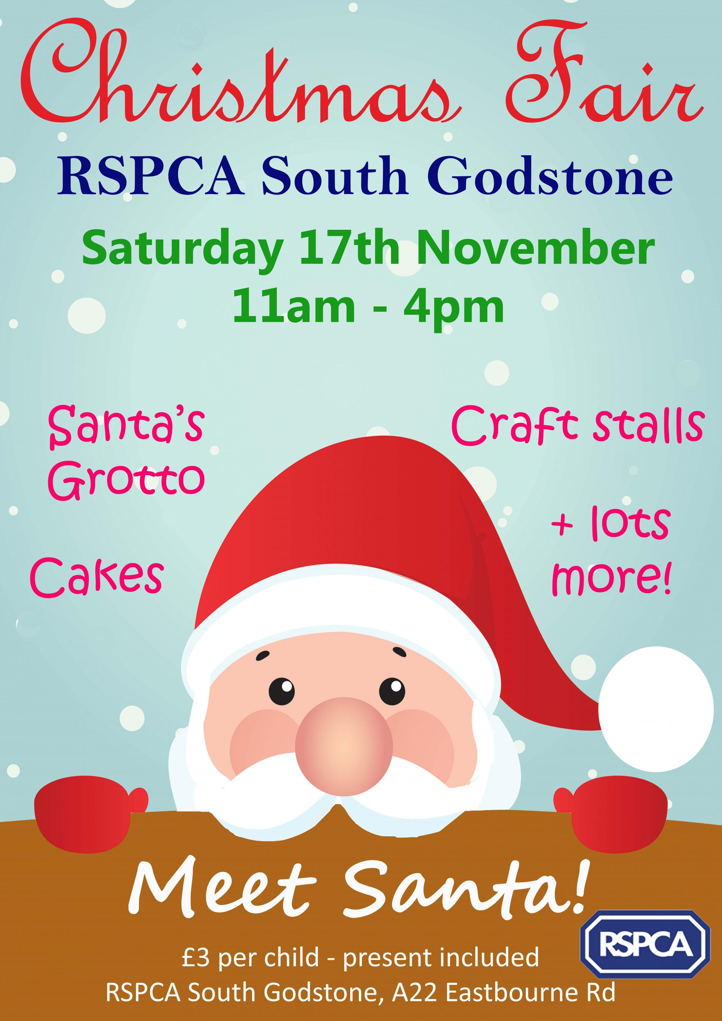 RSPCA South Godstone Christmas Fair